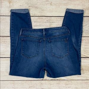 👖Jessica Simpson Rolled Crop Skinny Jeans